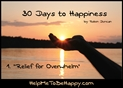 Relief for Overwhelm - Audio Lecture by Robin Duncan