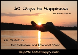 Relief for Self-Sabotage and Emotional Pain - Audio Lecture by Robin Duncan