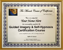 Guided Imagery and Self-Hypnosis Training Certificate