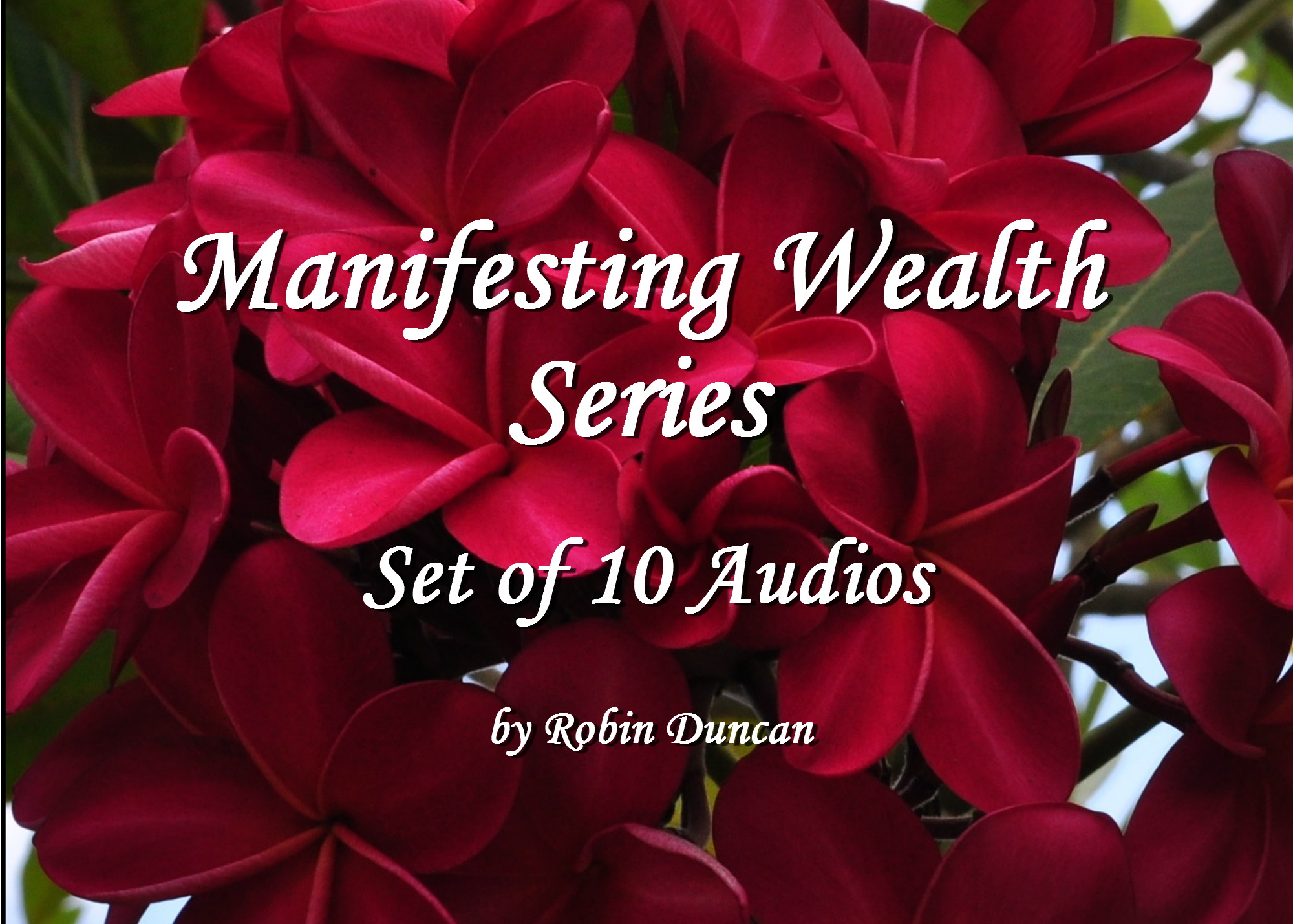 Manifesting Wealth Series-10 Audio Set Manifesting Wealth, Help with Money, Prayer about Money, Guided Meditation on Money